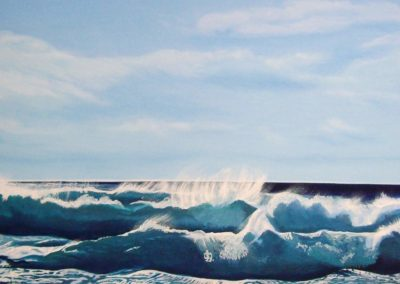 Atlantik 2 (Öl auf Leinwand)