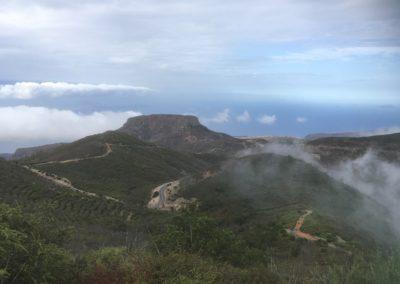 Ausblick La Fortaleza