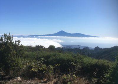 El Teide vom Garajonay