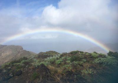Regenbogen Gomera