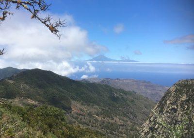 El Teide von Vallehermoso aus