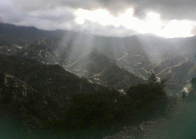 Der Himmel geht auf über Vallehermoso