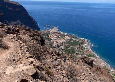 Abstieg vom La Merica ins Valle Gran Rey