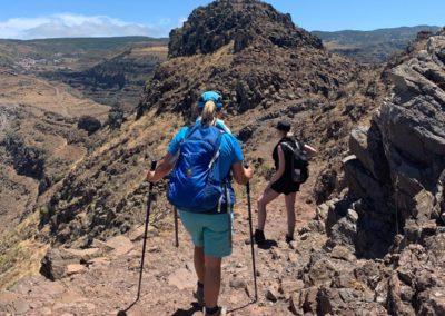 Wanderer auf dem La Merica